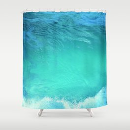 Blue Lagoon Shower Curtain