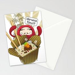 Daruma Time!!! Stationery Cards