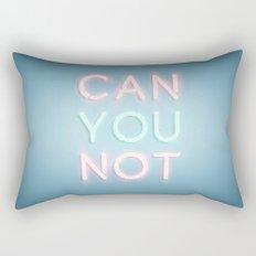 Can You Not Rectangular Pillow