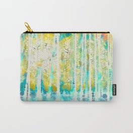 Sherwood Pines Abstract Art Carry-All Pouch
