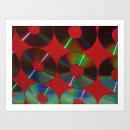 CDs Art Print