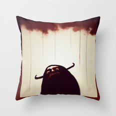 Viking Came Back Haunted  Throw Pillow