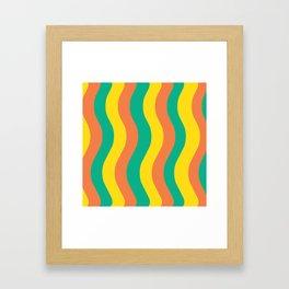 Sweet Potato Fries Framed Art Print