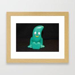 Gumby Framed Art Print