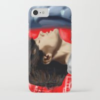 louis tomlinson iPhone & iPod Cases featuring Louis Tomlinson by Manny D