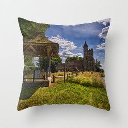 St Michael And All Angels Little Horsted Throw Pillow
