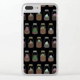 Tiny Terrariums Clear iPhone Case