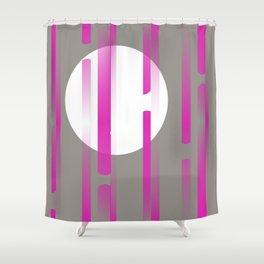 Pink Horizons  Shower Curtain