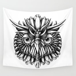 Crystal Owl Wall Tapestry