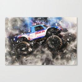 Big Foot 15 Canvas Print