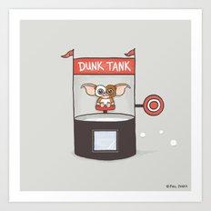 Dunk Gizmo Art Print