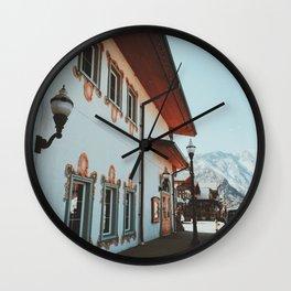Leavenworth - Washington Wall Clock