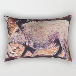 The Three Little Pigs Rectangular Pillow