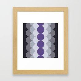 Gradual Ultra Violet Framed Art Print