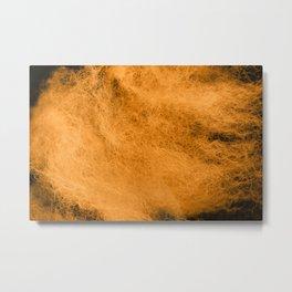 Wool orange tint Metal Print
