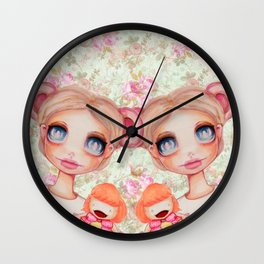 Puppeteer Mouse Wall Clock