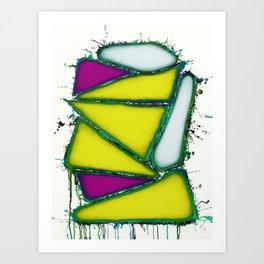 Yellow sail Art Print