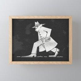 Spy Framed Mini Art Print