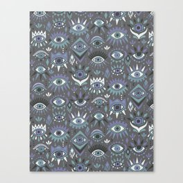 Mystic Eyes Canvas Print