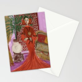 """MARUSHKA, HOME ON TUESDAY EVENING"" Stationery Cards"