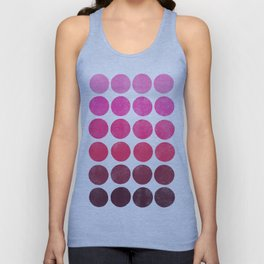 Color Play Pink Unisex Tank Top