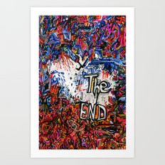 The End Art Print