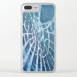 Web Clear iPhone Case
