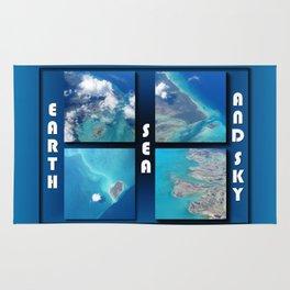 Earth Sea and Sky Rug