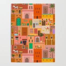 Marrakesh: The Red City Poster
