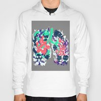 lungs Hoodies featuring Lungs by LAM Hamilton