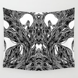 Subconscious Throne of Death  Wall Tapestry