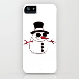 Christmas Skating iPhone Case
