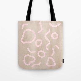 Pink Confetti Tote Bag