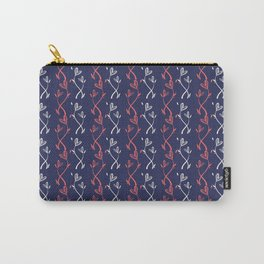 Hearts Strings Carry-All Pouch