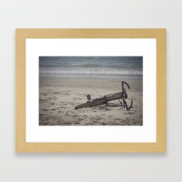 Lost Bicycle Framed Art Print