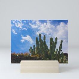 Cactus Sky Mini Art Print