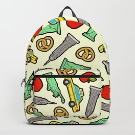 New York, New York Pattern Backpack