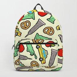 New York, New York Pattern Backpack