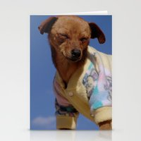 hot dog Stationery Cards featuring Hot dog by Fernando Libânio