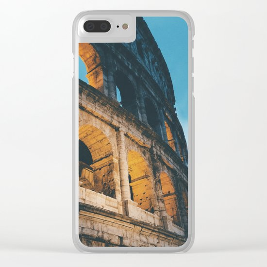 Rome Clear iPhone Case