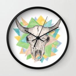 Geo Skull Wall Clock
