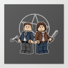 The Brickchesters Canvas Print