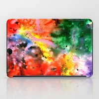 milky way iPad Cases featuring Milky Way by Ink and Paint Studio
