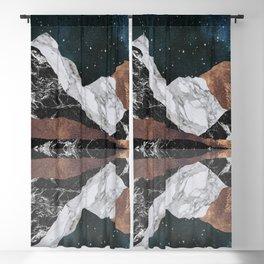 Landscape Mountains Blackout Curtain