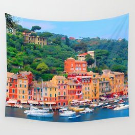 Italy. Venice Ocean front Wall Tapestry