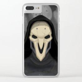 Reaper - gabriel reyes Clear iPhone Case