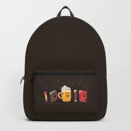 Back To School Beer Backpack