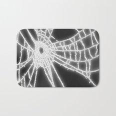 Surrealistic Spider Web Bath Mat