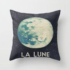 La Lune Throw Pillow