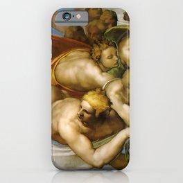 "Michelangelo ""The Last Judgment""(detail) iPhone Case"